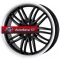Диски Alutec BlackSun Racing Black Lip Polished 8x17/5x108 ЕТ40 D70,1
