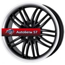 Диски Alutec BlackSun Racing Black Lip Polished 8x17/5x115 ЕТ40 D70,2