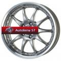 Диски Alutec Kyro Sterling Silver 7x15/4x108 ЕТ15 D65,1