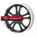 Диски American Racing AR393 Black/Machined 8,5x20/5x114,3 ЕТ35 D72,62