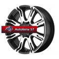 Диски American Racing AR708 Black/Machined 9,5x22/8x165 ЕТ0 D125