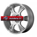 Диски American Racing AR889 Silver/Machined 8,5x20/5x127 ЕТ35 D78,1
