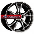Диски Antera 383 Diamant black front polished 8x18/5x112 ЕТ48 D75