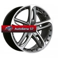 Диски Antera 501 Graphite matt front polished 9,5x19/5x120 ЕТ32 D74,1