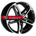 Диски Antera 501 Racing black front polished 8,5x19/5x114,3 ЕТ32 D75