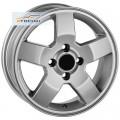 Диски FR replica GN9 Silver 5,5x14/4x100 ЕТ45 D56,5
