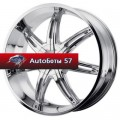 Диски KMC KM665 Chrome 9,5x22/5x114,3 ЕТ30 D72,62