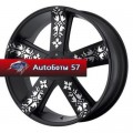 Диски KMC KM669 Black/Machined 8,5x20/5x112*5x120 ЕТ38 D74,1