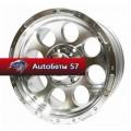 Диски LF Works LF087 Silver Full Machine Chrome Rivets 8x15/5x139,7 ЕТ-20 D110
