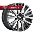 Диски MSW 18 Matt Gun Metal Full Polished 7x16/5x112 ЕТ35 D73,1
