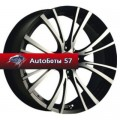 Диски MSW 20/4 Matt Black Full Polished 7x15/4x108 ЕТ25 D73,1