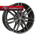 Диски MSW 24 Matt Gun Metal Full Polished 8x19/5x112 ЕТ48 D73,1