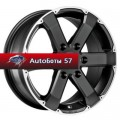 Диски MSW 46 Matt Black Full Polished 7,5x17/6x139,7 ЕТ40 D92,3