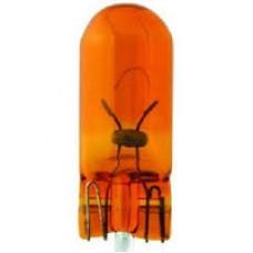 VL032120_к-кт ламп!(WY5W) 12V 5W W2.1X9.5D стеклянный цоколь оранжевая Essential (2шт. в блистере)