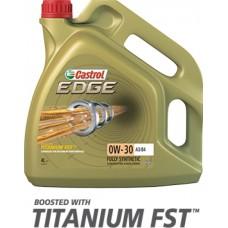 CASTROL Масло моторное EDGE Titanium FST 0w30 (4л) Синтетика А3/В4 BMW LL-01, VW502 00/505 00