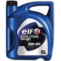 ELF Масло моторное Excellium NF 5w40 (5л) Синтетика (EVOLUTION 900NF 5w40)