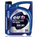 Моторное масло ELF EVOLUTION 900 5w30 (полностью синтетическое SXR 5w30), 5l ELF-5W30SXR-5L
