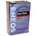 ENEOS Масло моторное Diesel CG-4 10w40 ПолуСинтетика (4л)