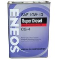 ENEOS Масло моторное Diesel CG-4 10w40 ПолуСинтетика (6л)