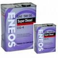 ENEOS Моторное масло Diesel CG-4 5w30 ПолуСинтетика (4л)