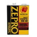 IDEMITSU Моторное масло Zepro Diesel SAE 5W40 4л