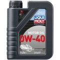 Синтетическое моторное масло для снегоходов 1л 0w-40 liqui moly snowmobil motoroil 7520