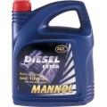 MANNOL Classic High Power 10w40 полусинтетическое 4 литра