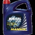 MANNOL Diesel Extra 10w40 полусинтетическое 5 литров
