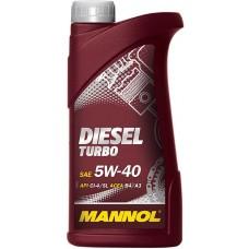 MANNOL Масло моторное diesel turbo 5w40 (1л) Синтетика CI-4/SL