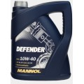 MANNOL Масло моторное stahlsynt defender 10w40 (4л) ПолуСинтетика