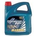 MANNOL Molibden Benzine 10w40 полусинтетическое 4 литра