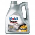 Синтетическое моторное масло для дизельных двигателей MOBIL MOBS-5W40D-4L