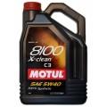 Cинтетическое моторное масло MOTUL 8100 X-Clean 5W40, 1л MOTUL-8100-CL-5W40-1