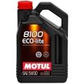 Энергосберегающее моторное масло для бензиновых двигателей MOTUL 8100 Eco-lite 5W30 MOTUL-8100EL-5W30-5L