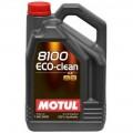 MOTUL 102889 Мотор/масло 8100 Eco-clean 0w30 (5л)