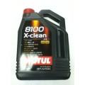 MOTUL 8100 X-Clean 5w40 синтетическое 5 л (102051)