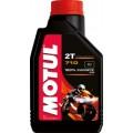 MOTUL Масло для мотоциклов 710 2-х тактное (1л) для 2-х тактных двигателей Синтетика