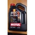 MOTUL Масло моторное 8100 X-clean 5W40 син. (4л) 104720