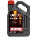 Motul Моторное масло 8100 X-clean FE 5W30 5л