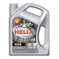 SHELL Helix 5W30 HX 8 синт. мот.масло 4л