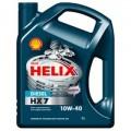 SHELL Helix Diesel HX7 10w40 полусинтетическое 4 литра