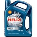 SHELL Helix HX7 5w40 полусинтетическое 4 литра