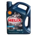 SHELL Масло моторное Helix Diesel HX7 10w40 (4л) ПолуСинтетика