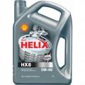 SHELL Масло моторное Helix HX8 5w40 (4л) (Синтетика)