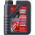 Синтетическое моторное масло для 4-тактных мотоциклов 1л 10w-60 liqui moly motorbike 4t synth street race 1525