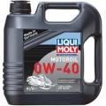 Синтетическое моторное масло для снегоходов 4л 0w-40 liqui moly snowmobil motoroil 2261