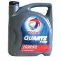 Total Масло моторное ПолуСинтетика QUARTZ 7000 10w40 (4л) SL/CF A3/B3
