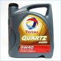 TOTAL Масло моторное QUARTZ 9000 5w40, 4 литра