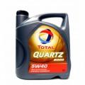 Total Масло моторное Синтетика QUARTZ 9000 5w40 (5л) A3/B4 SL/CF