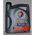 Total Масло моторное Синтетика QUARTZ INEO ECS 5w30 (4л) под сажевый фильтр